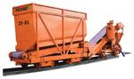 Pojazd kontenerowy ZV-01 / Przenośnik taśmowy PD-01