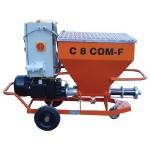 Wrzecionowa pompa tłocząca i tynkarska C 8 COM-F