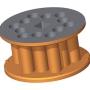 Bęben - 3,9 l - okrągłe otwory